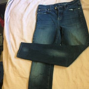 Gap high wasted skinny jeans.